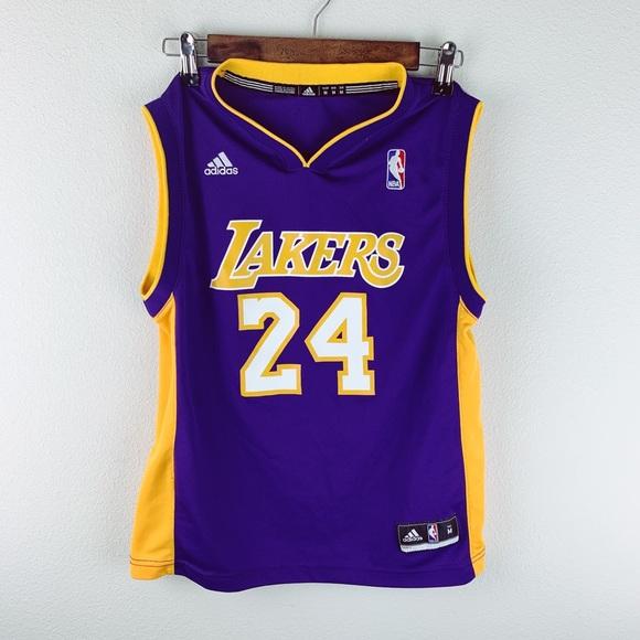 adidas Tops | Adidas Kobe Bryant Lakers Jersey | Poshmark